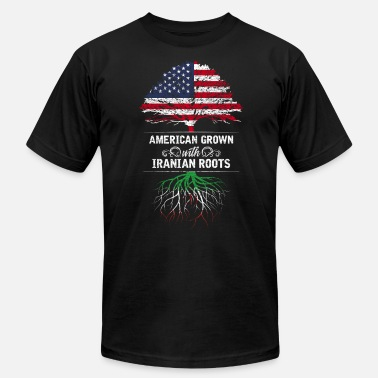 Iranian American American grown with Iranian roots - Men's Jersey T-Shirt