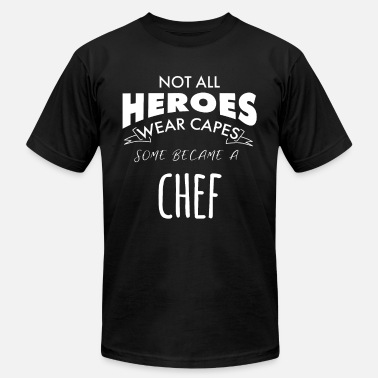 A Chefs Life Hero Chef - Men's  Jersey T-Shirt