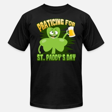 St Patricks Day Party Shirt Shamrock Beer Gift - Men's Jersey T-Shirt