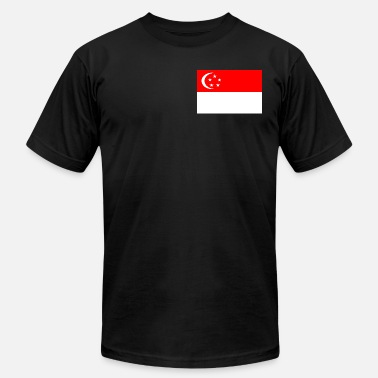 Flag Of Singapore singapore flag - Men's  Jersey T-Shirt