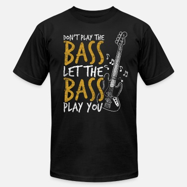 Lets Play Let The Bass Play You - Men's  Jersey T-Shirt