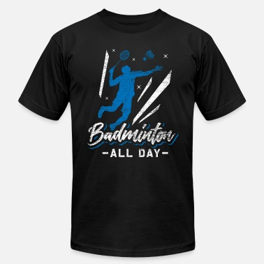 Badminton All Day - Men's Jersey T-Shirt