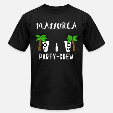 Palms Party MALLORCA PALMS PARTY CREW ISLAND BEER HOLIDAY - Men's  Jersey T-Shirt