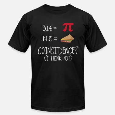 Math Genius Cake and Mathematics - No Coincidence Maths Genius - Men's  Jersey T-Shirt