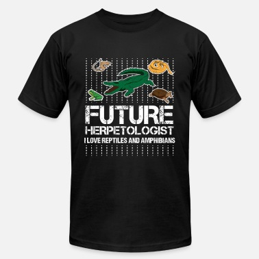 Reptiles Future Herpetologist Reptiles and Amphibians - Unisex Jersey T-Shirt