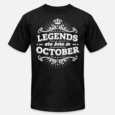 950f3af5 October 21 Birthday Legend T ShirtLegend Are Born ShirtOctober ...