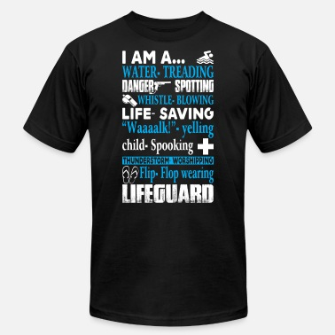 Lifeguard I Am A Lifeguard T Shirt - Men's Jersey T-Shirt
