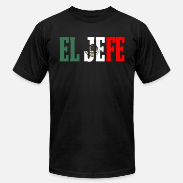 Hefe EL HEFE Mexican Design Mexican Flag Design For Mexican Pride - Men's Jersey T-Shirt