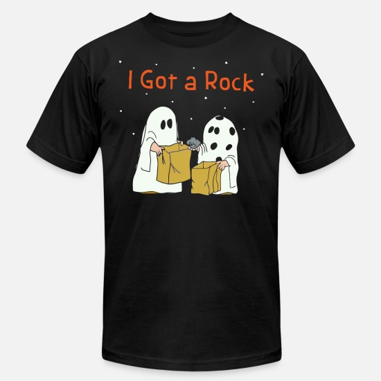 Charlie T-Shirts - I got a rock - Unisex Jersey T-Shirt black