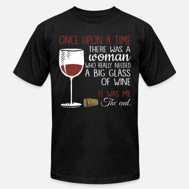 ONCE UPON A TIME WINE SHIRT - Unisex Jersey T-Shirt