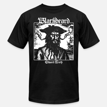 Blackbeard Blackbeard Edward Teach Pirates of the Caribbean P - Men's  Jersey T-Shirt