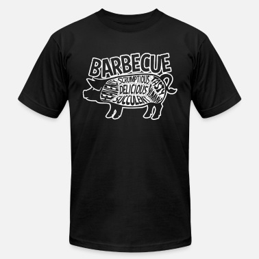 BBQ Pig Summer Cookout Delicious Grill Master Baco - Unisex Jersey T-Shirt