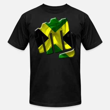 Jamaica Colors Jamaica - Men's  Jersey T-Shirt
