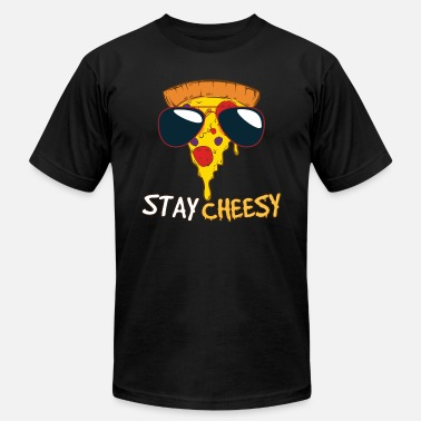 Kitschy Stay Cheesy - Men's  Jersey T-Shirt