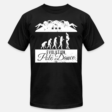 Pole Dance Evolution Evolution Pole Dance - Men's  Jersey T-Shirt