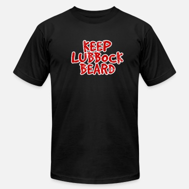 Keep Austin Weird BASKETBALL: Keep Lubbock Beard II - Men's  Jersey T-Shirt