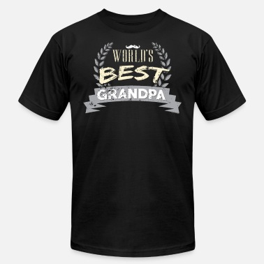 Best Grandpas Worlds Best Grandpa Best Grandpa - Men's  Jersey T-Shirt