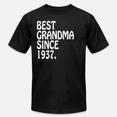 Clothes For Grandma The Best Grandma 1937 Best Grandma Clothes - Men's  Jersey T-Shirt