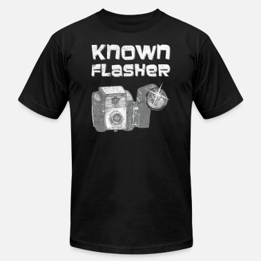 Graduate Mom Known Flasher Camera Photo Funny Photographer - Men's  Jersey T-Shirt