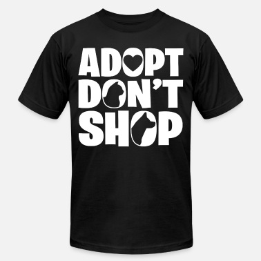 Adopt A Dog adopt dog - Men's  Jersey T-Shirt