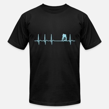 0b0cedf6 Heartbeat Curling Curler Broom Quote Funny Gift - Men's Jersey T-.  Men's Jersey T-Shirt