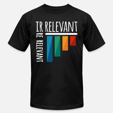 Irrelevant irrelevant diagram - Men's  Jersey T-Shirt