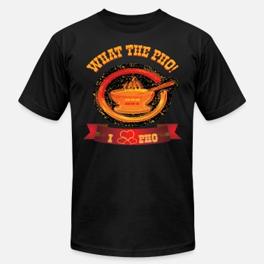 Pho Bowl What The Pho - Men's  Jersey T-Shirt