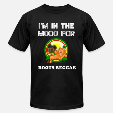 Funny Jamaica Cool Vintage Reggae Gift Idea for Lovers of Jamaican Dub Roots Reggae and Jamaica Heritage - Men's  Jersey T-Shirt