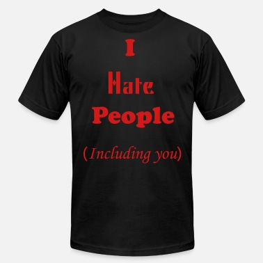 I Hate People - Men's Jersey T-Shirt