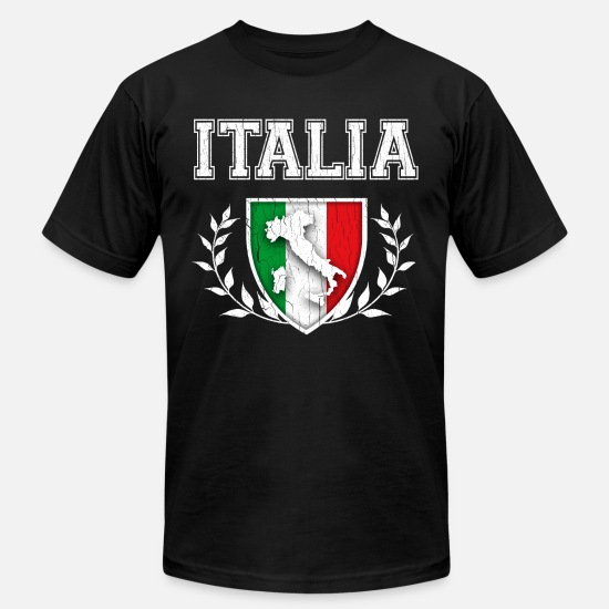 Big Distressed Italian American Flag Italy U.S.A Sweatshirt Gift Idea