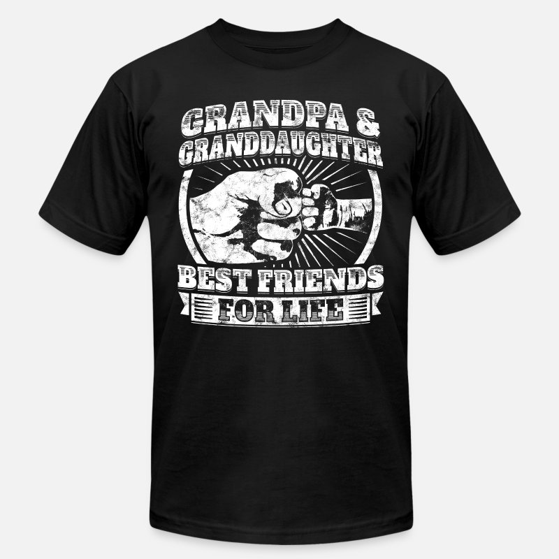 shop grandpa and granddaughter t shirts online spreadshirt