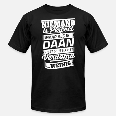 Daan Niemand is perfect maar als je daan heet scheelt h - Men's Jersey T-Shirt