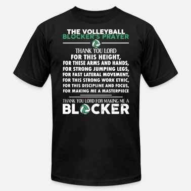 I Love Volleyball The volleyball thank you lord for this height fir - Men's  Jersey T-Shirt