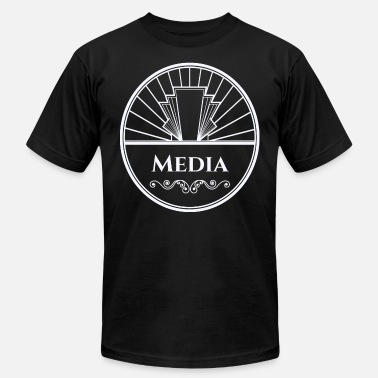 Media and Technology - New Caelus - Men's Fine Jersey T-Shirt