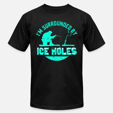 Ice Holes Ice Holes - Men's  Jersey T-Shirt