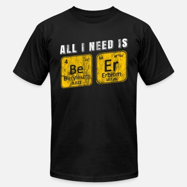 Beer Science Beer in Science - Men's  Jersey T-Shirt