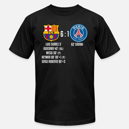 timeless design f7732 9f452 FC Barcelona 6-1 PSG Men's Jersey T-Shirt | Spreadshirt