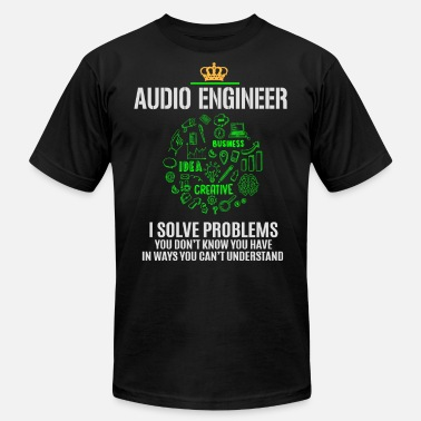 Audio Engineer Designs AUDIO ENGINEER - Men's Fine Jersey T-Shirt