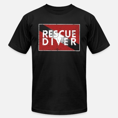 Dive Rescue Scuba Dive Flag Shirt Rescue Diver Search Rescue Diver - Men's  Jersey T-Shirt
