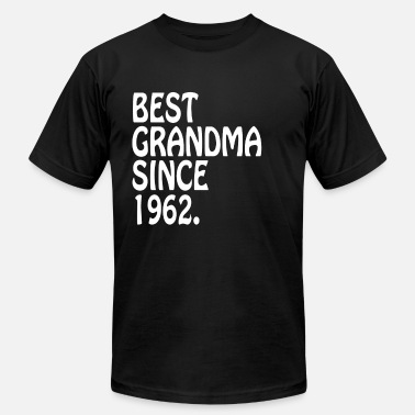 Best Clothing Best Grandma Ever 1962 Best Grandma Clothes - Men's  Jersey T-Shirt