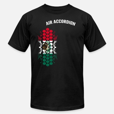 Accordion Air Accordion champions - Flag of Mexico - Men's  Jersey T-Shirt