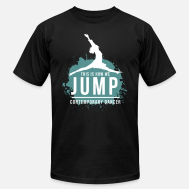 Modern Dance Contemporary Dance Dancing Modern Dancer Ballet - Men's Jersey T-Shirt
