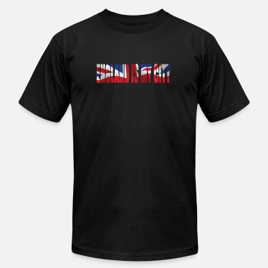 England Cities ENGLAND IS MY CITY - Men's  Jersey T-Shirt