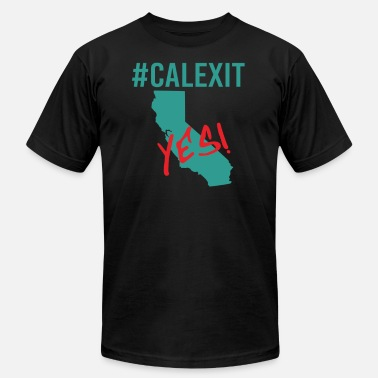 Secede calexit Yes California Secede - Men's Jersey T-Shirt