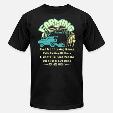 Farming Definition FARMING DEFINITION SHIRT - Men's  Jersey T-Shirt