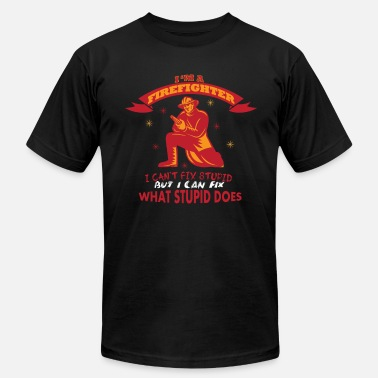 Anniversary Firefighter profession anniversary gift idea - Men's  Jersey T-Shirt