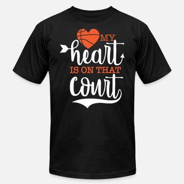 Basketball Love Basketball Love - Men's  Jersey T-Shirt