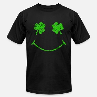 Fuck Patty St Patty s Day Makes Me Smile Funny Gift irish T S - Men's  Jersey T-Shirt