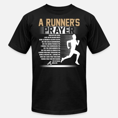 Runners Prayer A Runner's Prayer T Shirt - Men's  Jersey T-Shirt