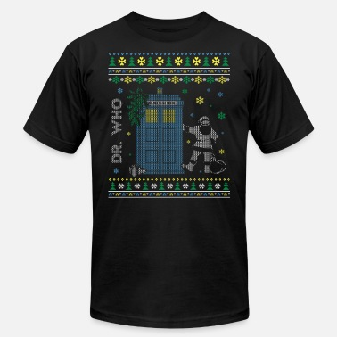 Crossover Doctor Who Christmas sweater for Doctor Who fan - Men's  Jersey T-Shirt